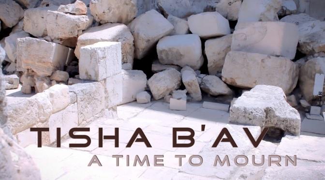 Tisha B'Av: My Own Meditative Thoughts