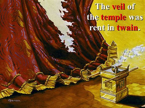 Why Did God Tear the Temple Veil in Half? Not for the Reason You Think